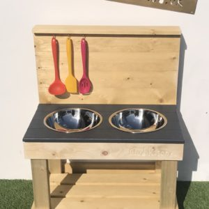 The Naked Pebble Mud Kitchen unpainted - to paint yourself
